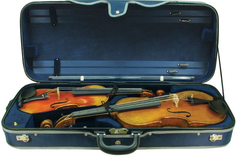 Double Violin and Viola Case