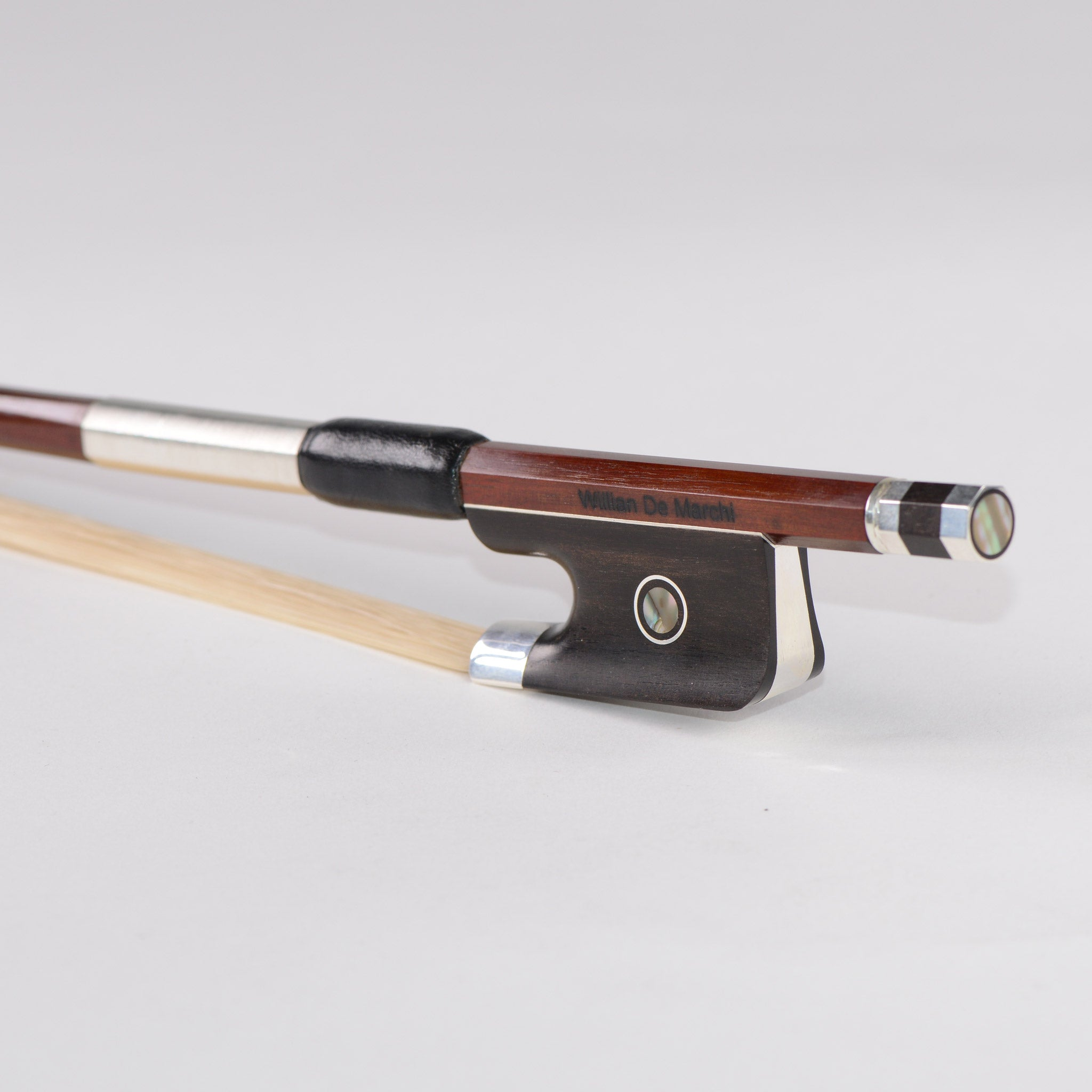 Willian De Marchi Silver Cello Bow