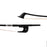 Fiddlerman Braided Carbon Fiber 3/4 Double Bass Bow - German