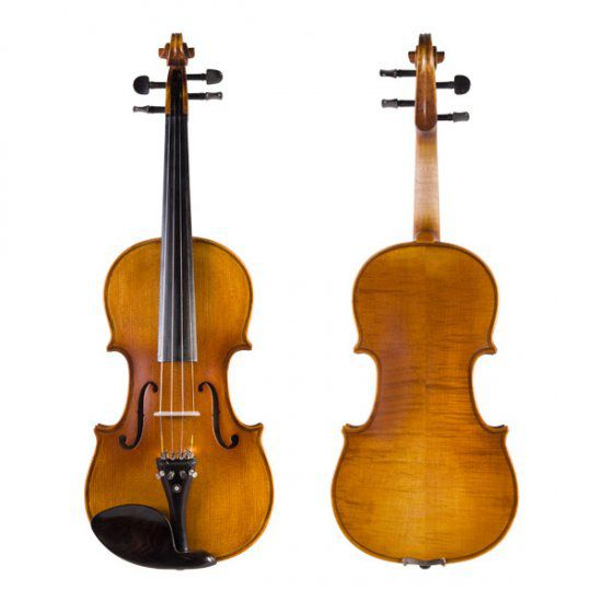 Cecilio Antique Ebony Violin CVN-500