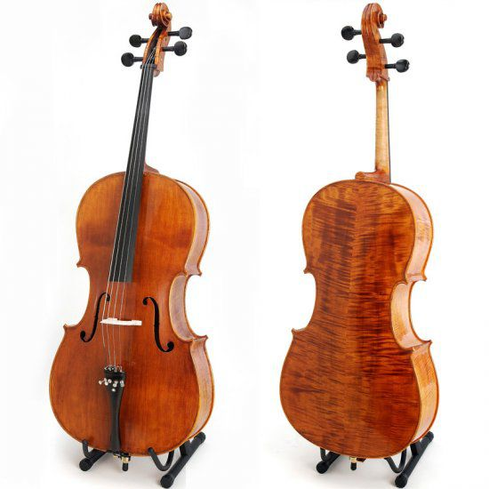 Cecilio Oil Finish Solidwood Cello CCO-600