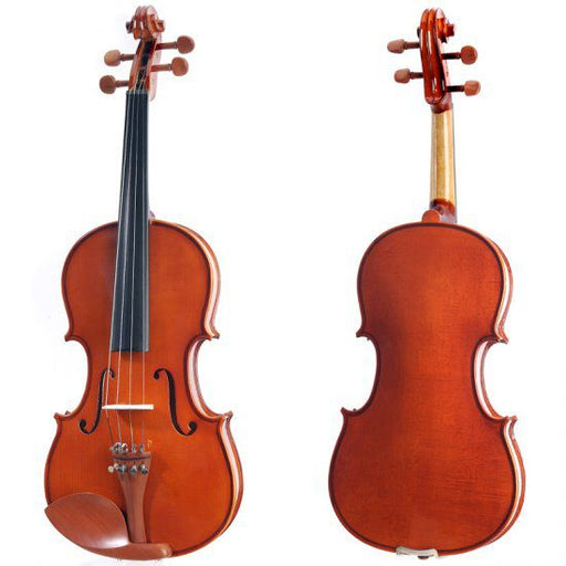 cecilio maple violin front and back