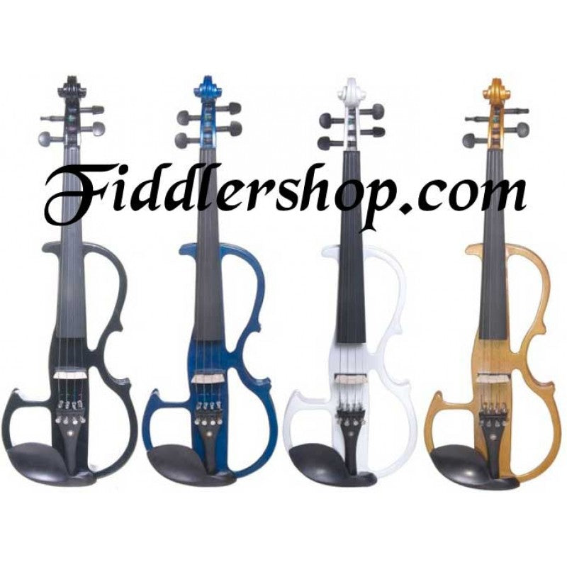 Cecilio Solidwood Ebony Electric Violin CEVN-2