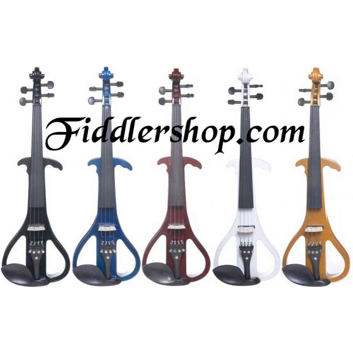 Cecilio Solidwood Ebony Electric Violin CEVN-4