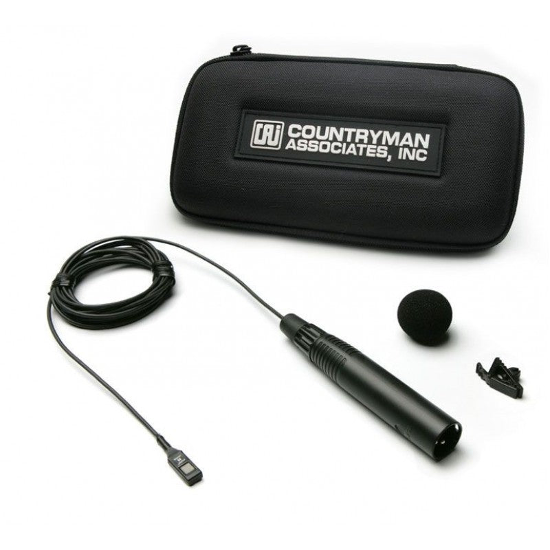 Countryman Isomax II with XLR connection