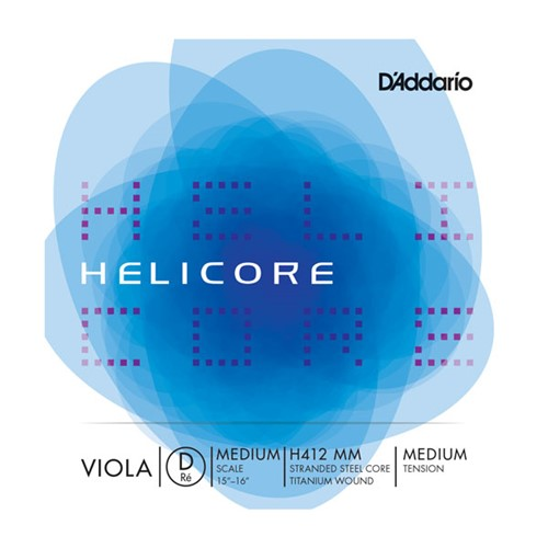 D'Addario Helicore Viola Single D String