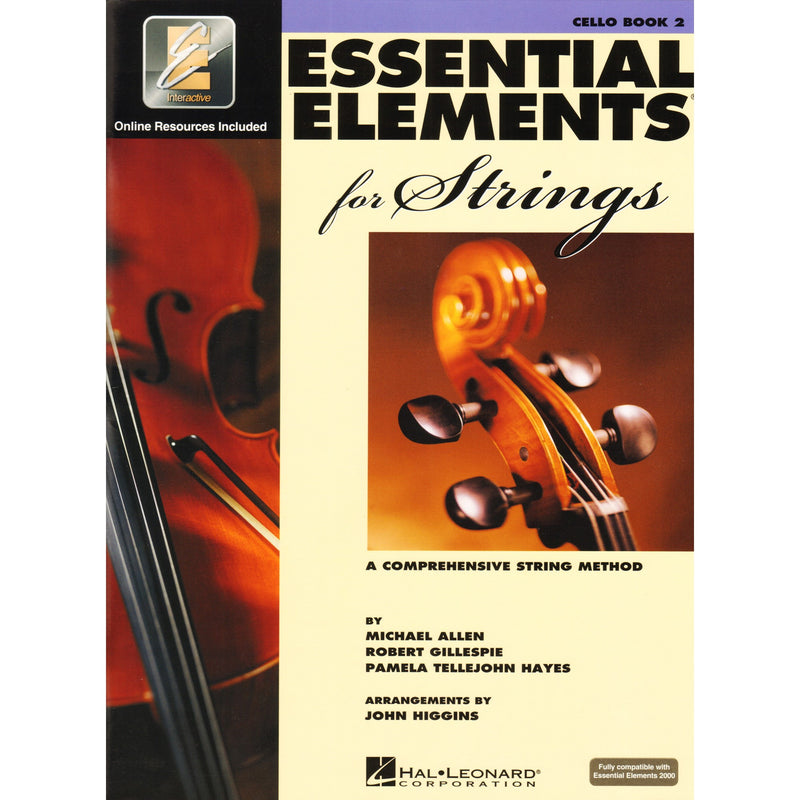 Essential Elements for Strings - Cello Book 2