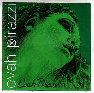 Evah Pirazzi - Green - A String - Chrome