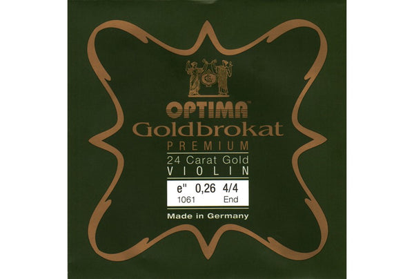Lenzner Optima Goldbrokat Premium 24 Carat Gold Violin E String