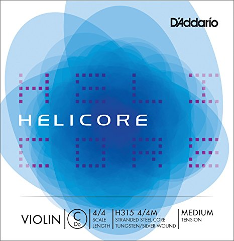 D'Addario Helicore Violin Single Low C String