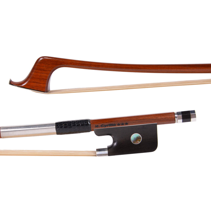 Helisson Cyrillo 3-star Pernambuco Professional Cello Bow