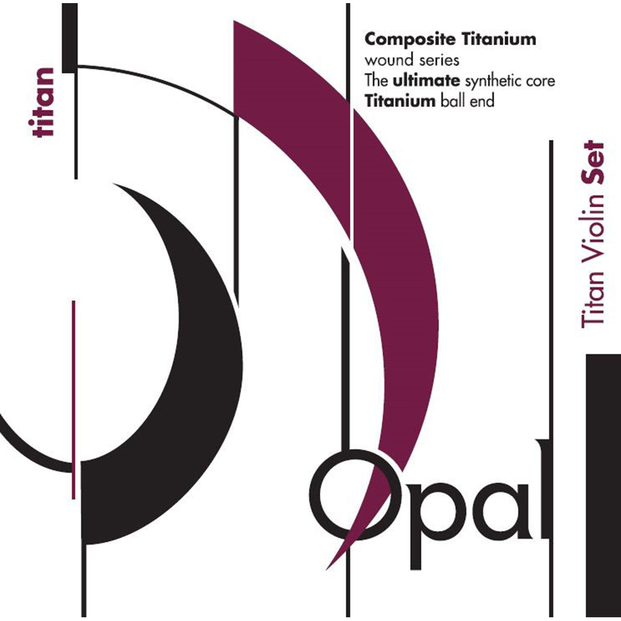 Opal Titan Violin String Set
