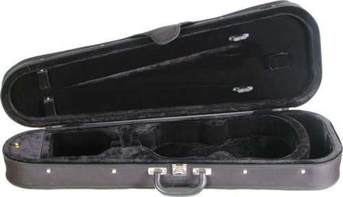 Standard Shaped Wood Shell Viola Case