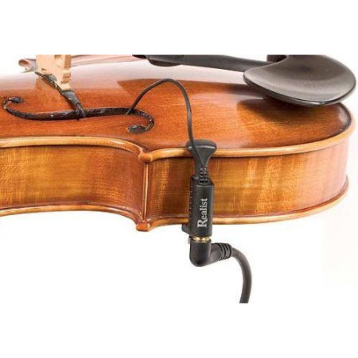 Realist Transducer for Violin