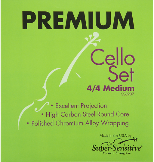 Super Sensitive Premium Cello String Set