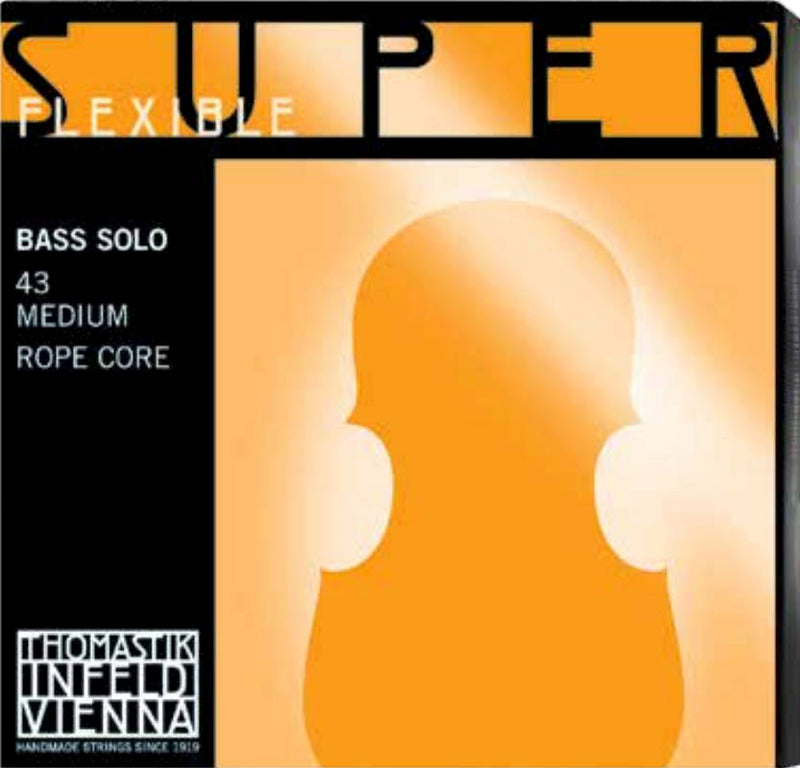 Superflexible Ropecore Bass String Set Solo Tuning (A, E, B, F
