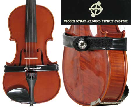 Headway Band Wrap-Around Pickup System Violin