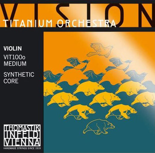 Vision Titanium Orchestra - A - Synthetic Core, Aluminum Wound