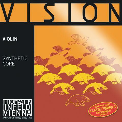 Thomastik Vision Violin - Set with Silver D