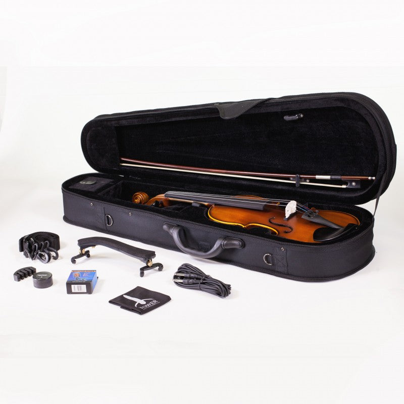 Tower Strings Acoustic Electric Violin Outfit
