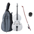 Cecilio Double Bass Outfit White