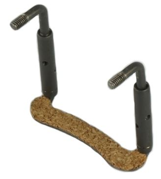 Titanium U-clamp Hardware Replacement Chinrest