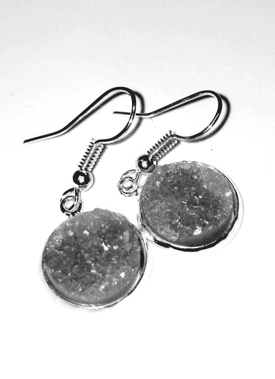 Petite Druzy GemCord Earrings
