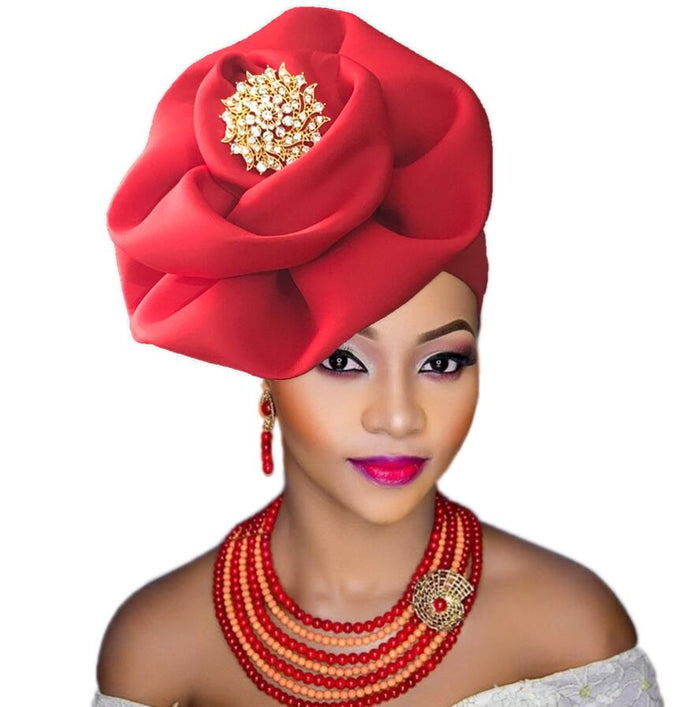 Afircan turban for women gele sego african headtie