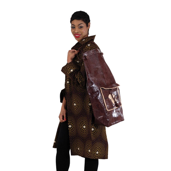 Large Leather Bag - African Clothing Online