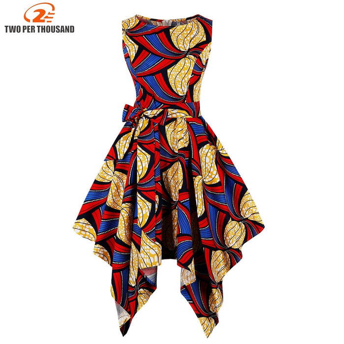african-clothing-online,S-4XL Plus Size African Dresses For Women Africa Clothing Asymmetrical Dress Middle East Dashiki Dresses Bazin Riche Traditional,African Clothing Online,
