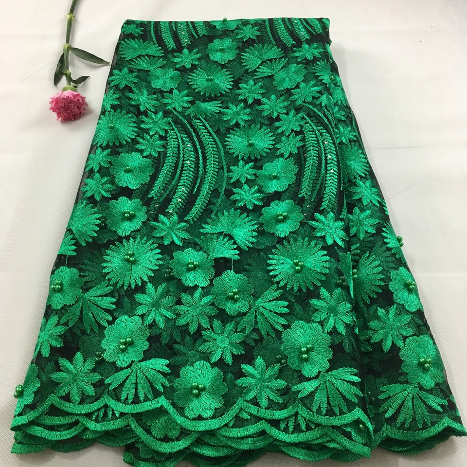 african-clothing-online,African lace fabric 2019 high quality lace french mesh fabric beaded stones Nigerian Swiss lace fabrics for dressHX09,African Clothing Online,