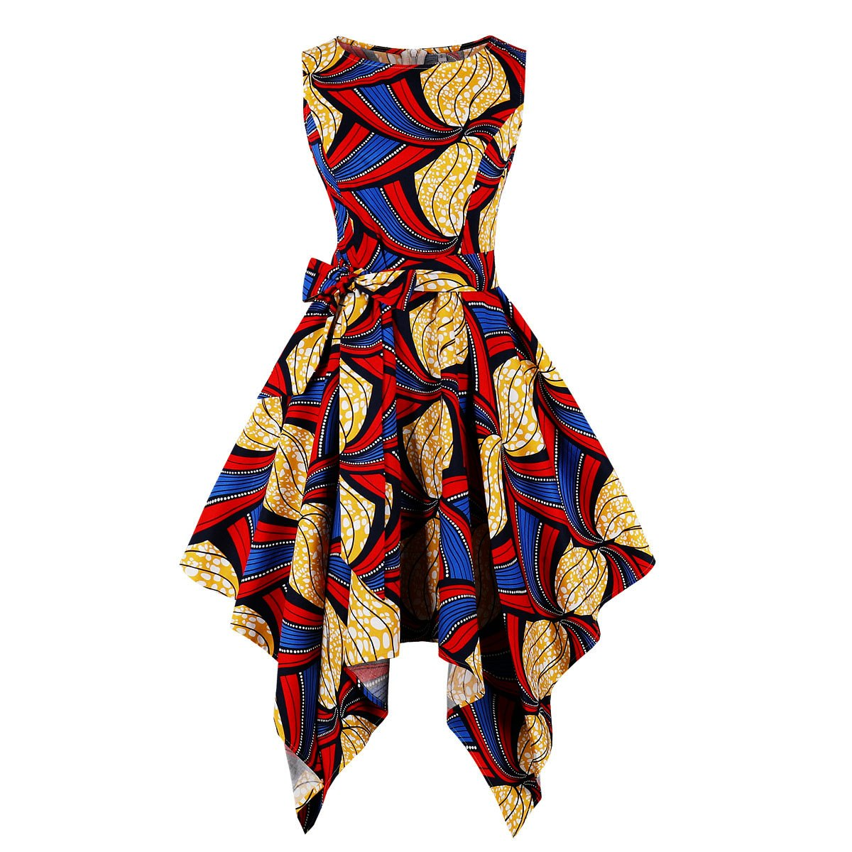 S-4XL Plus Size African Dresses For Women Africa Clothing Asymmetrical Dress Middle East Dashiki Dresses Bazin Riche Traditional - African Clothing Online