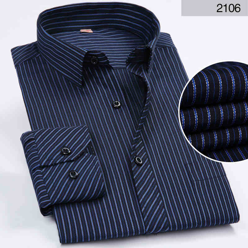 african-clothing-online,DAVYDAISY Hot Sale Spring Men Shirt Long Sleeved Striped Solid Plaid Male Business Shirt Brand Clothing Formal Shirt Man DS022,African Clothing Online,Shirts
