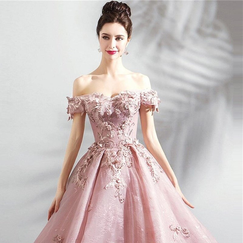 african-clothing-online,ruthshen Luxury 2018 Sweet 16 Teens Prom Dresses Floor Length New Appliques Party Gown Evening Dress Vestidos De Festa For Event,African Clothing Online,