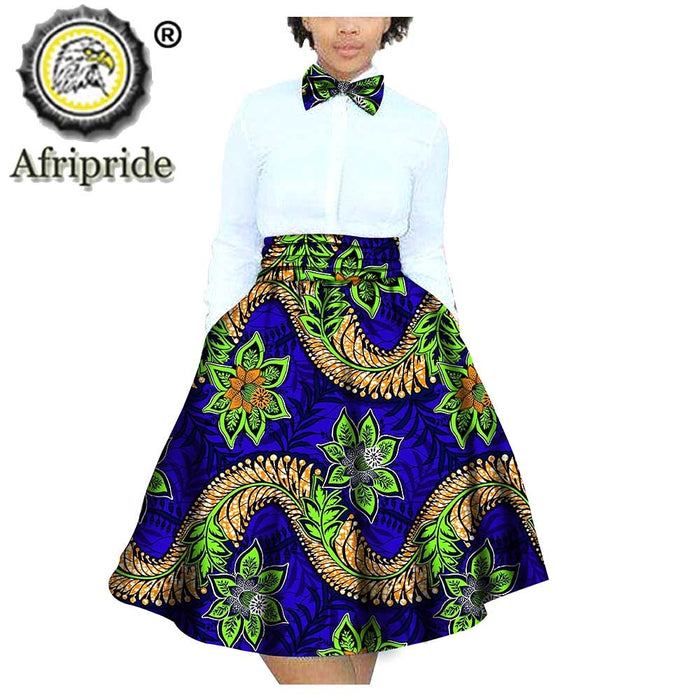 2020 African women skirts Children clothing 100% cotton dashiki bazin riche ankara print