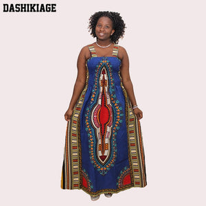 Sexy Backless Dress Summer Dashiki Casual Sundress Beach Women Plus Size Sexy Dress Vestidos De Playa african dresses for women - African Clothing Online