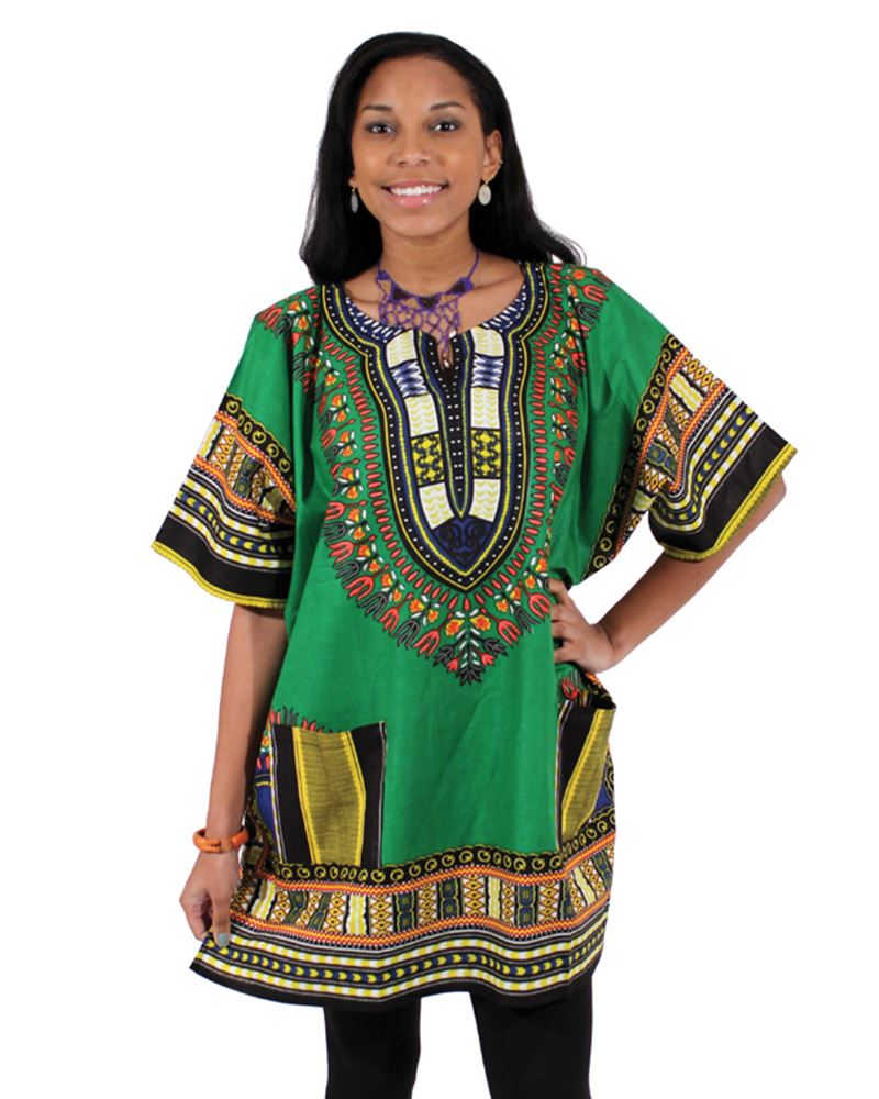 african-clothing-online,King-Sized Traditional Dashiki,African Clothing Online,Dashiki