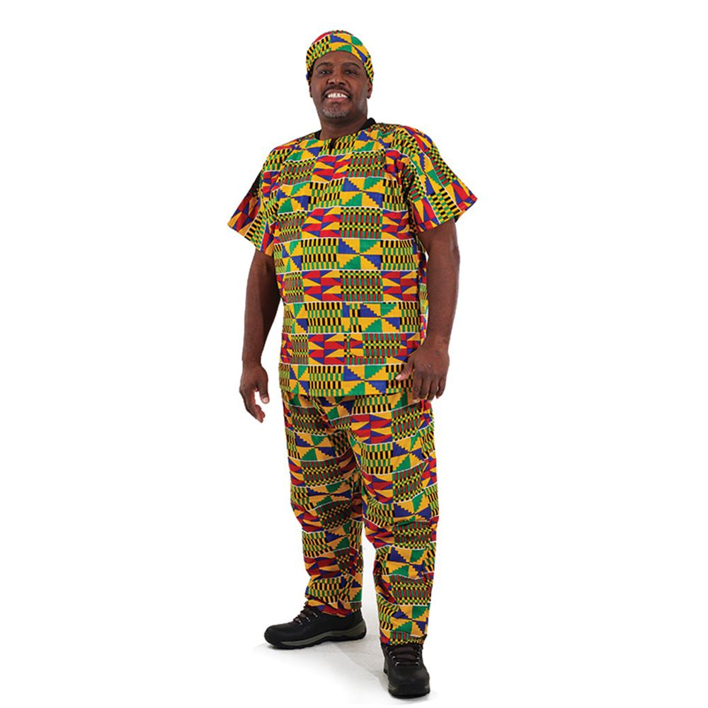 Kente Pant Set #2 - African Clothing Online