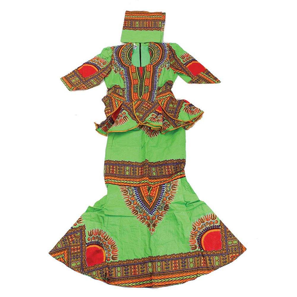 african-clothing-online,Traditional Print Luxury Skirt Set,African Clothing Online,African Dresses and Skirts