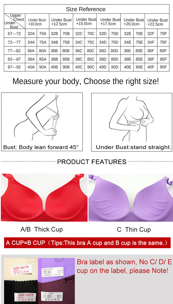 african-clothing-online,Sexy Deep U Cup Bras For Women Push Up Lingerie Seamless Bra Wire Free Bralette Backless Bras Intimates Underwear Drop shipping,African Clothing Online,