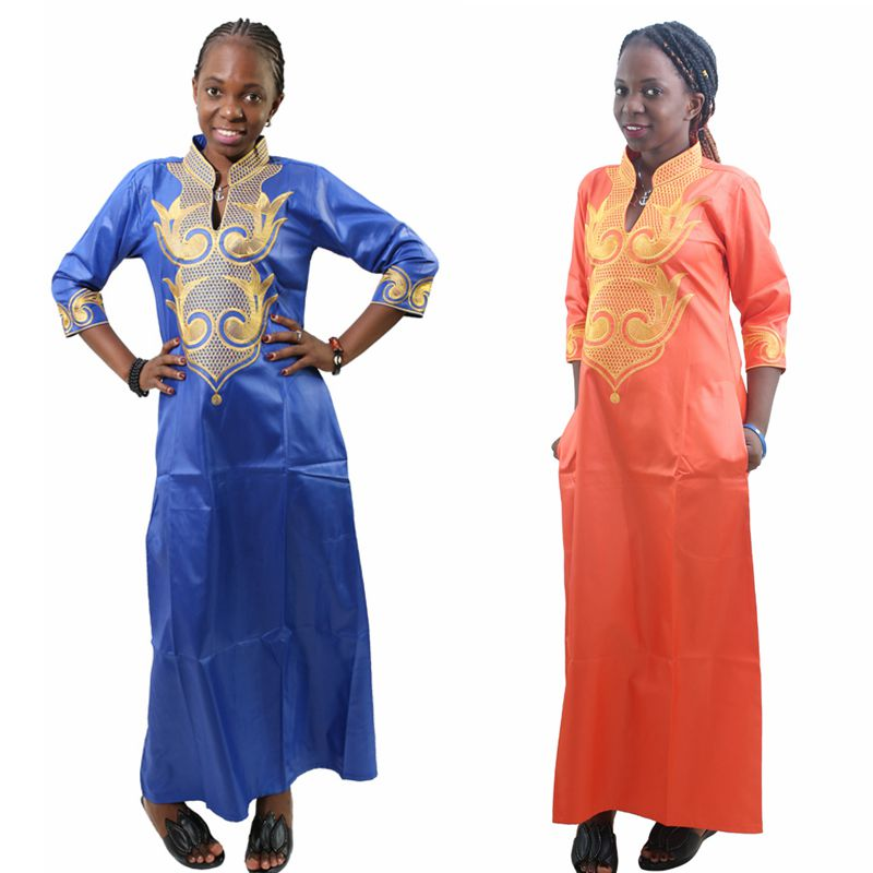 5003f2fcc7 H&D 2018 All Dashiki African Cotton Dresses Top Bazin dress for women  African Traditional Private African