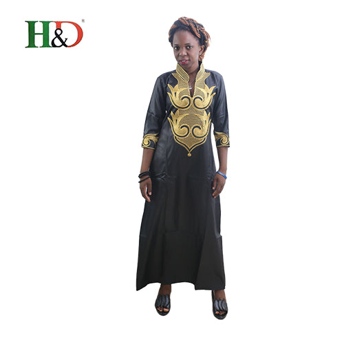 H&D 2018 All Dashiki African Cotton Dresses Top Bazin dress for women African Traditional Private African Custom Clothes dashiki - African Clothing Online