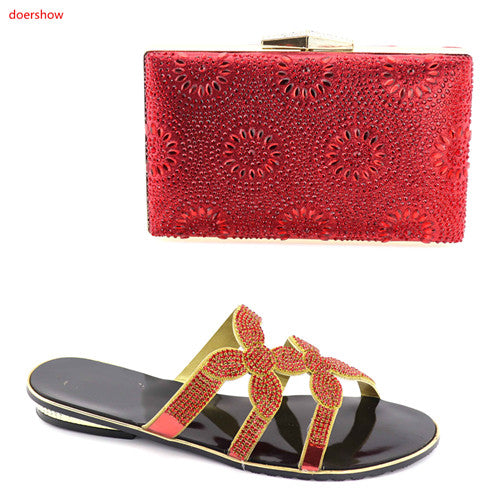 african-clothing-online,Ladies Italian Nigerian Women Wedding Shoes and Bag Set hot sale,African Clothing Online,shoes