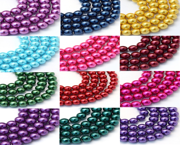 wholesale 100pcs 4mm Top Quality Czech Glass Pearl Round Loose Beads - deelytes-com