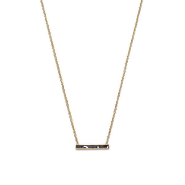 Gold Diamond Chip Necklace - deelytes-com