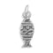 JESUS Ichthys Charm Sterling Silver - deelytes-com