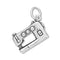 Sewing Machine Sterling Silver Charm - deelytes-com