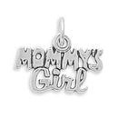 Mommy's Girl Sterling Silver Charm - deelytes-com