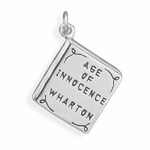 Age of Innocence Book Charm Sterling Silver - deelytes-com