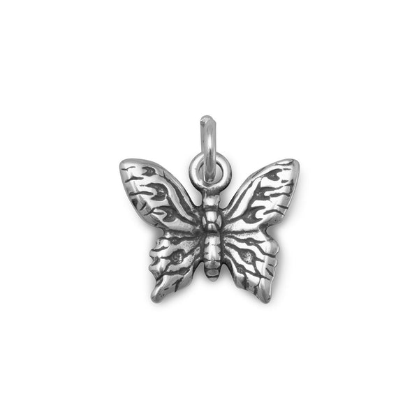 Butterfly Sterling Silver Charm - deelytes-com